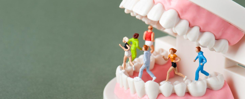 講義イメージ画像:歯科と運動の統合